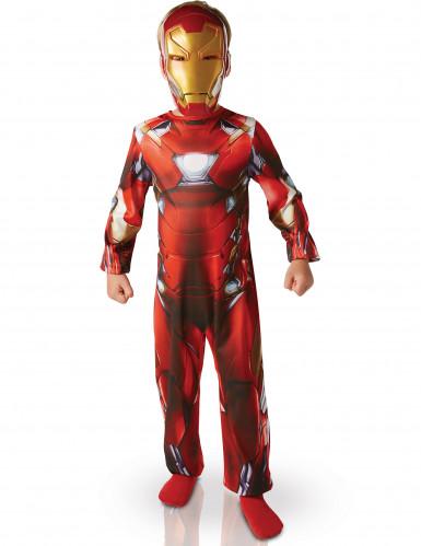 Iron Man™ - Civil War kostuum voor jongens