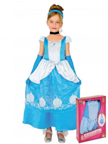 Blauw sprookjeskostuum voor meisjes