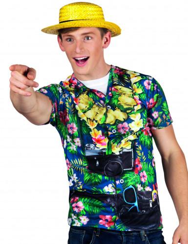 Hawaiiaanse toerist fopshirt voor heren