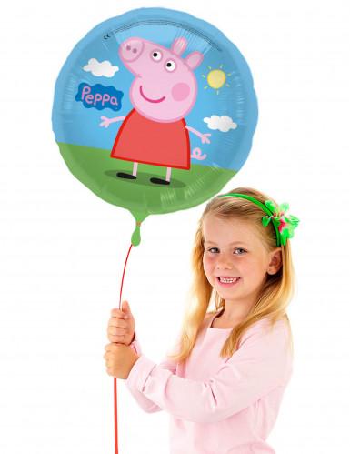 Aluminium Peppa Pig™ ballon 43 cm-1