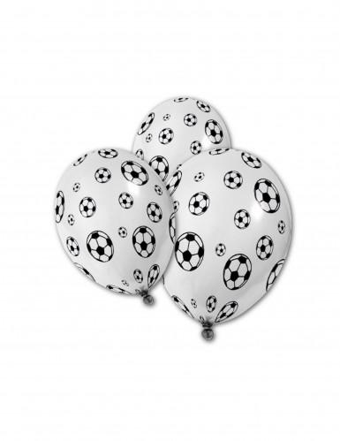5 voetbalballonnen