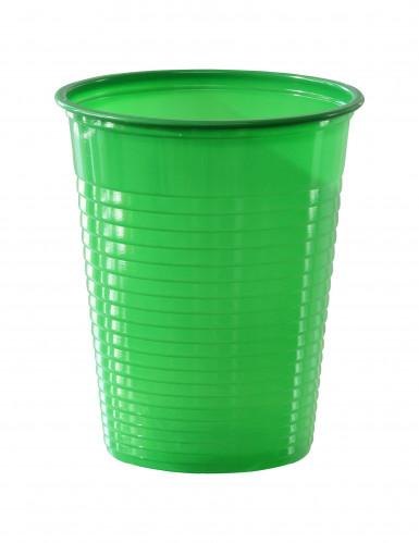 50 groene bekers