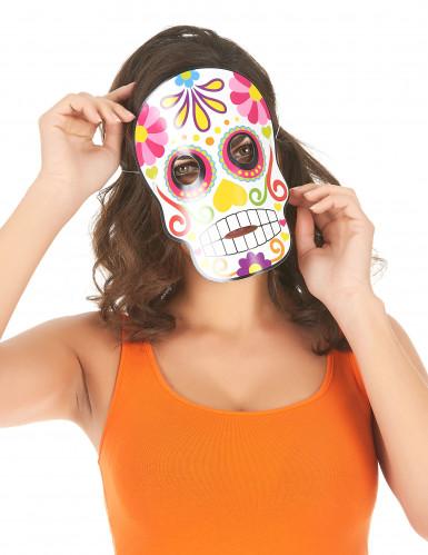 3 kartonnen Día de los Muertos maskers-1