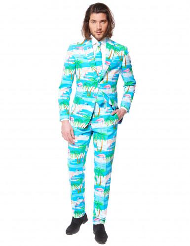 Mr. Flamingo Opposuits™ kostuum voor heren