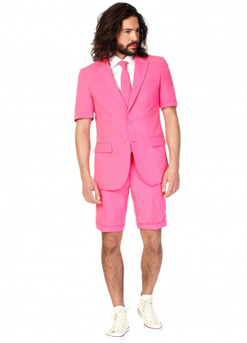 Mr. Pink Opposuits™ kostuum voor mannen