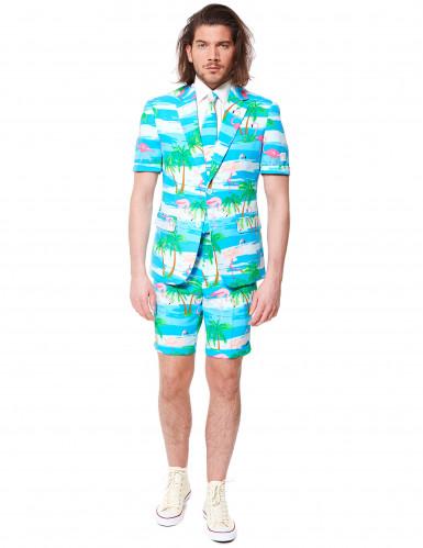 Zomers flamingo Opposuits™ kostuum-1