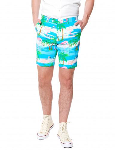 Zomers flamingo Opposuits™ kostuum-2