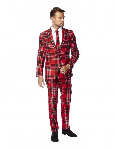 Schotse ruit Opposuits™ kostuum voor mannen-1