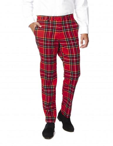Schotse ruit Opposuits™ kostuum voor mannen-2