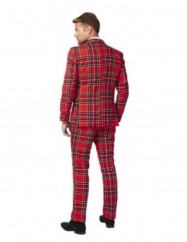 Schotse ruit Opposuits™ kostuum voor mannen-3