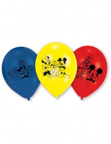 6 latex Mickey Mouse™ ballonnen