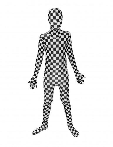 Morphsuits™ schaakbord kostuum voor kinderen