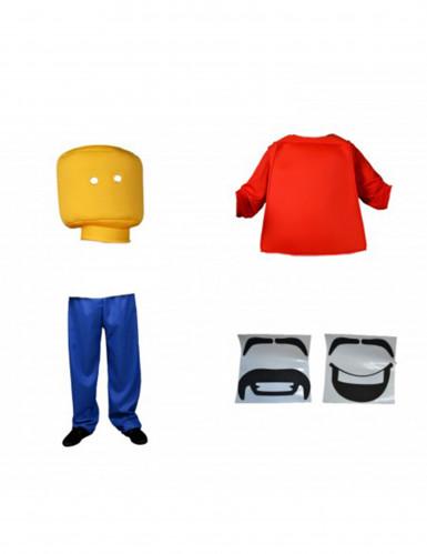 Meneer Blok Morphsuits™ kostuum voor kinderen-1
