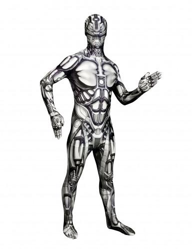 Morphsuits™ androïde robot kostuum voor volwassenen