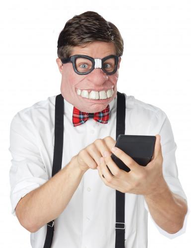 Nerd half masker voor volwassenen