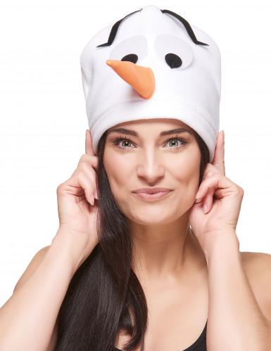 Sneeuwpop muts voor volwassenen
