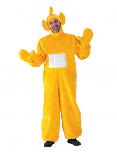 Gele tele baby kostuum voor volwassenen
