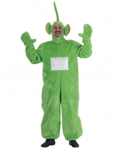 Groen tele baby kostuum voor volwassenen