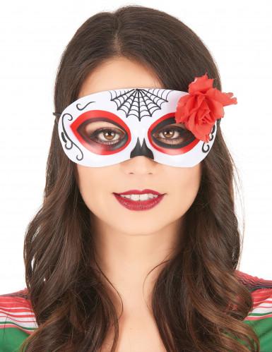 Dia de los Muertos masker voor vrouwen