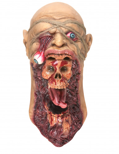 Monsterlijk zombie masker voor volwassenen-2