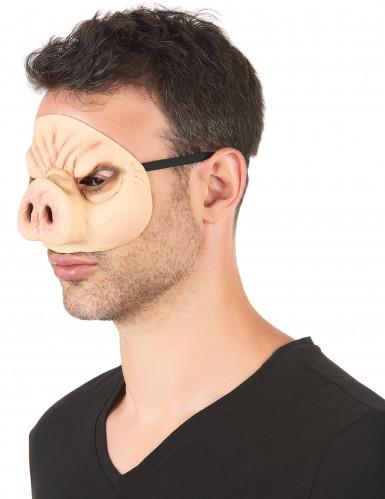 Latex varkensmasker voor volwassenen-1