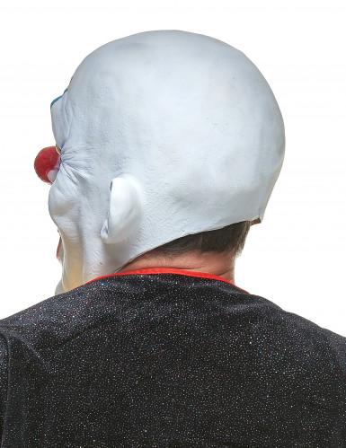 Latex diabolische clown masker voor volwassenen-1
