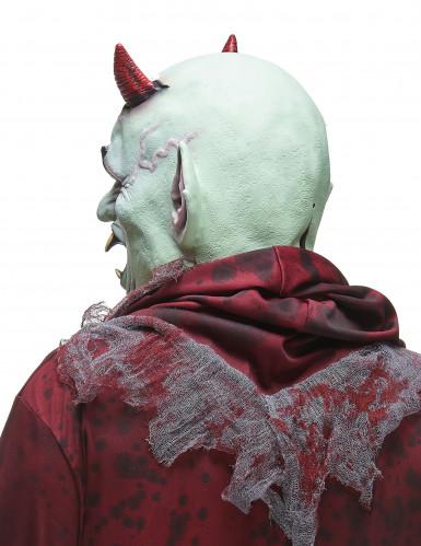 Boze duivel latex masker voor volwassenen-1