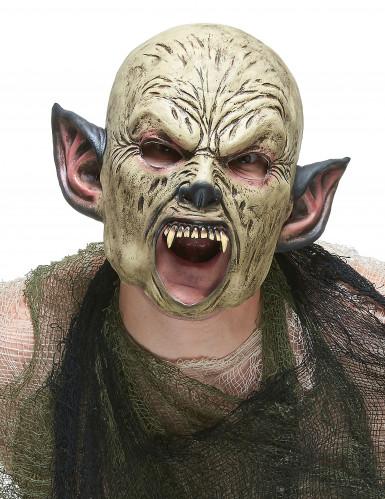 Latex ork masker voor volwassenen