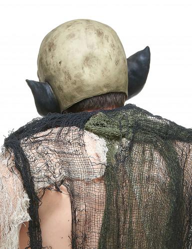 Latex ork masker voor volwassenen-1