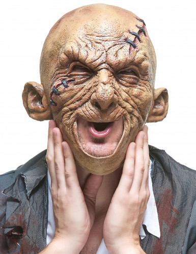 Latex zombiemasker voor volwassenen