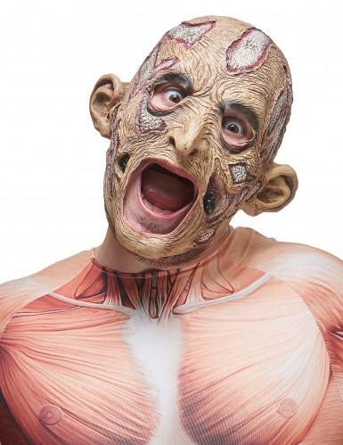 Rotte tovenaar masker voor volwassenen