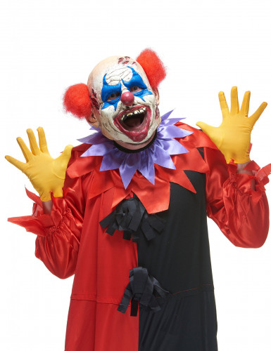 Latex horror clown masker
