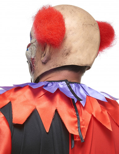 Latex horror clown masker-1