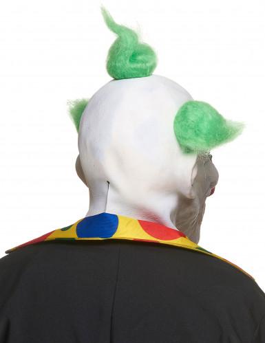 Latex gestoorde clown masker voor volwassenen-1