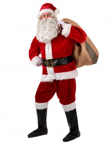 Luxe kerstman verkleedpak voor volwassenen-1