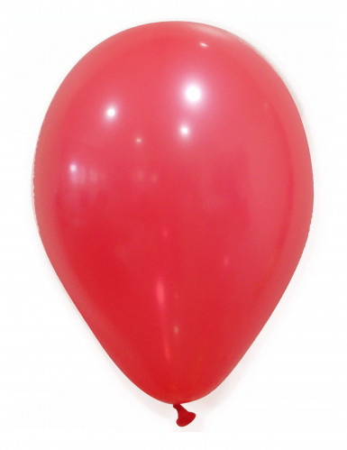 50 rode ballonnen