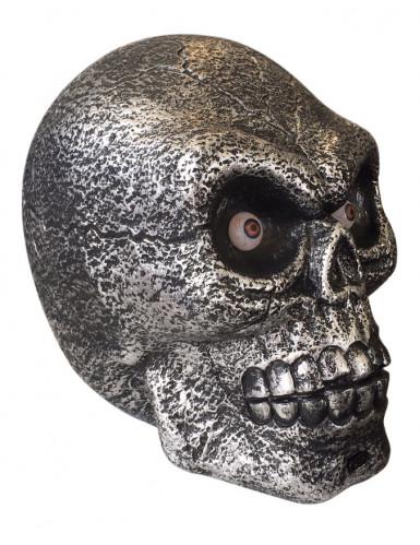 Enorme schedel decoratie met licht en geluid