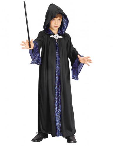 Duistere tovenaar kostuum voor kinderen