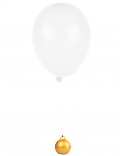 Goudkleurig heliumballon gewicht-1