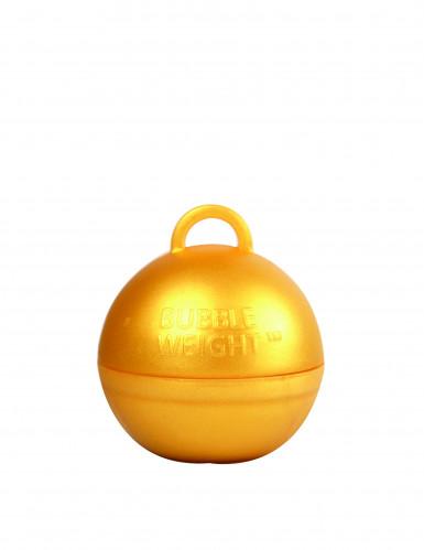 Goudkleurig heliumballon gewicht-2