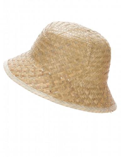 Beige avonturier hoed voor volwassenen