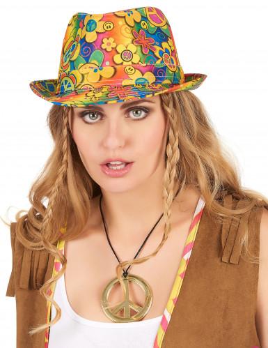 Hippie borsalino hoed voor volwassenen-1