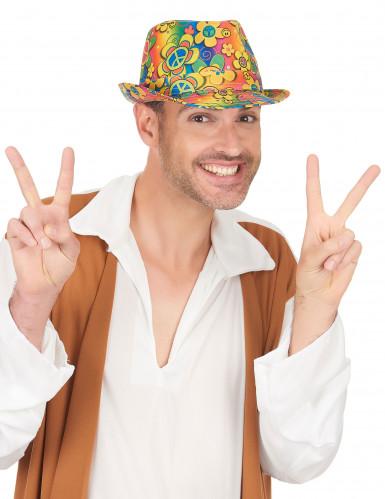 Hippie borsalino hoed voor volwassenen-2
