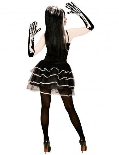 Skelet tutu kostuum voor vrouwen-1