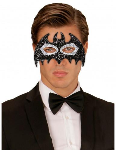 Miss Glitter vleermuis oogmasker voor volwassenen-1