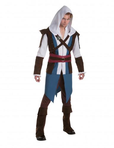 Assassin's Creed™ Edward kostuum voor volwassenen