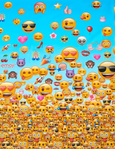 Plastic tafelkleed Emoji™-1