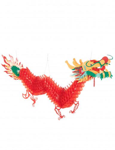 Chinees nieuwjaar draken decoratie