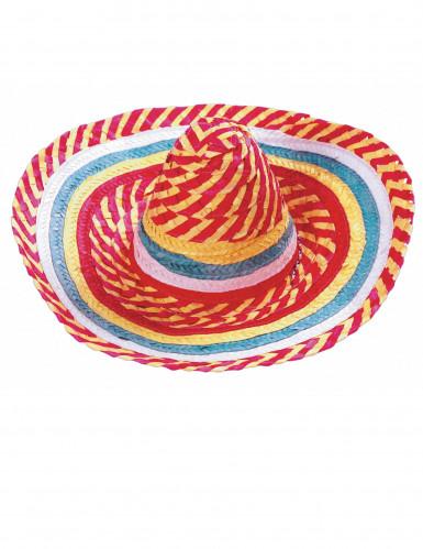 Tutti Frutti Mexicaanse sombrero voor volwassenen-1