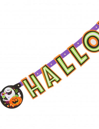 Pompoen Happy Halloween letterslinger-1